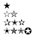 LaTex输入五角星